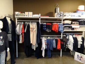 Inrichting klerenwinkel